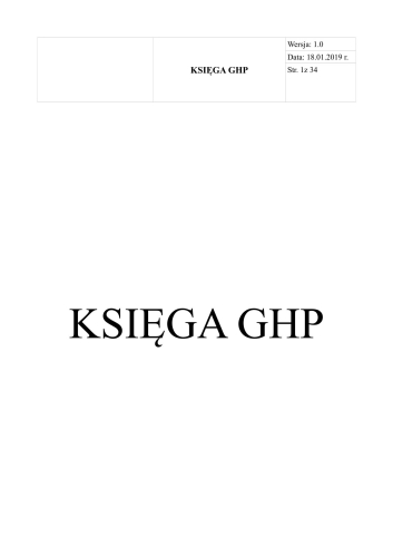 Sklep ogólnospożywczy - Księga GHP-GMP dla sklepu ogólnospożywczego 5
