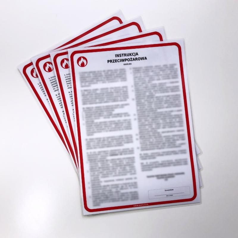 Pożar - instrukcja przeciwpożarowa Postępowanie w przypadku powstania pożaru 1