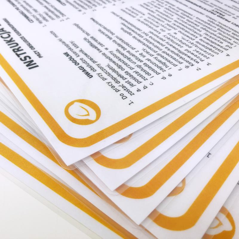 Drukarka - instrukcja BHP przy obsłudze drukarki 2