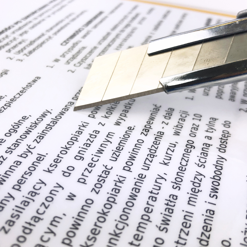 Drukarka - instrukcja BHP przy obsłudze drukarki 4